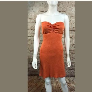 Michael Stars Dress One Size Strapless Stretch
